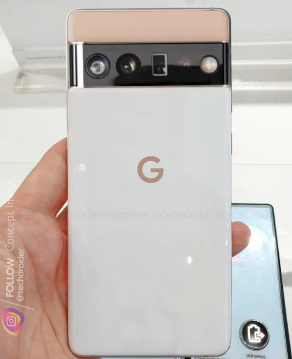 谷歌亲生手机曝光,外观极为亮眼