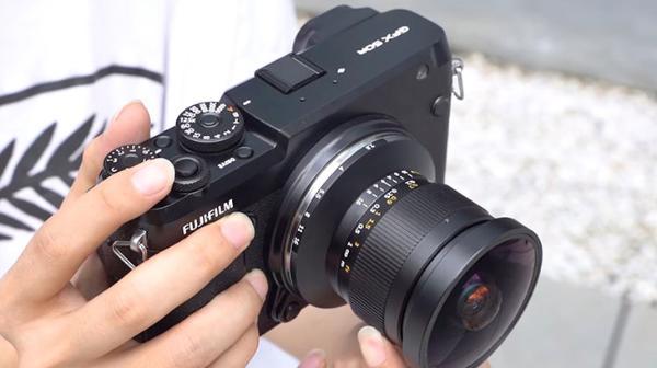 超便宜!富士中画幅鱼眼镜头铭匠11mm F2.8