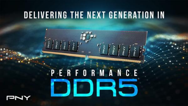 PNY发布XLR8系列DDR5-4800台式机内存