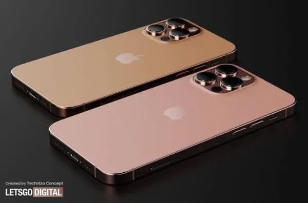 iPhone 13 Pro真机曝光:新玫瑰金配色