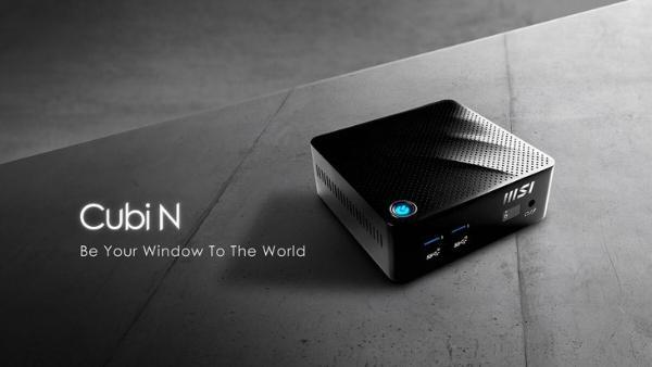 微星推出Cubi N迷你电脑:搭配英特尔N6000