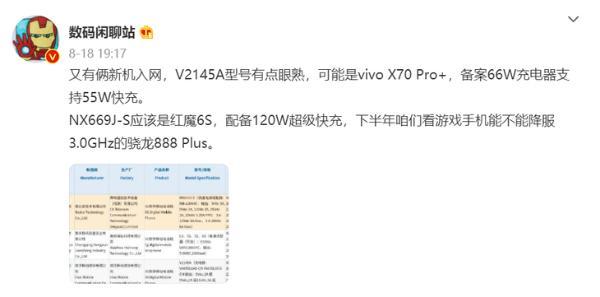 红魔游戏手机6S Pro新品预热:透明,再进化