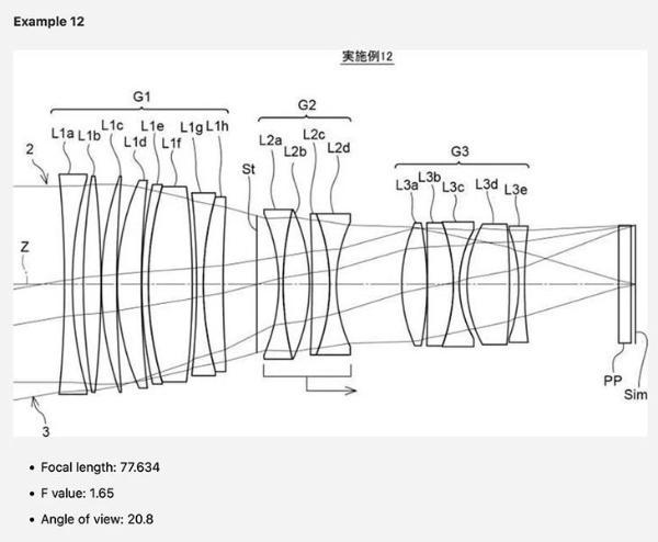 XF卡口空气切割机?富士XF90mm F1.6镜头专利曝光