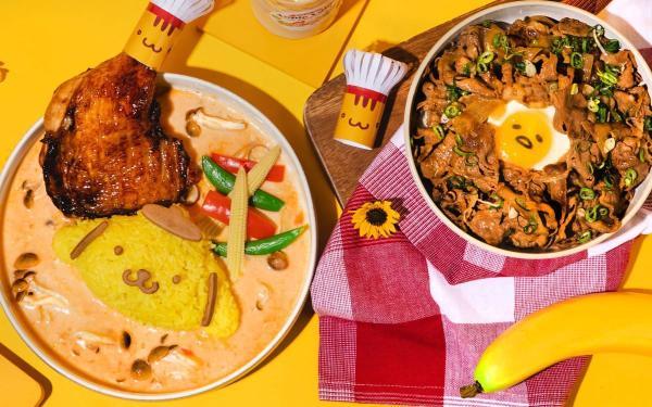 可爱到爆炸!Hello Kitty苹果村餐厅新菜单:蛋黄哥牛排、大耳狗炸猪排,疫情趋缓萌一波!