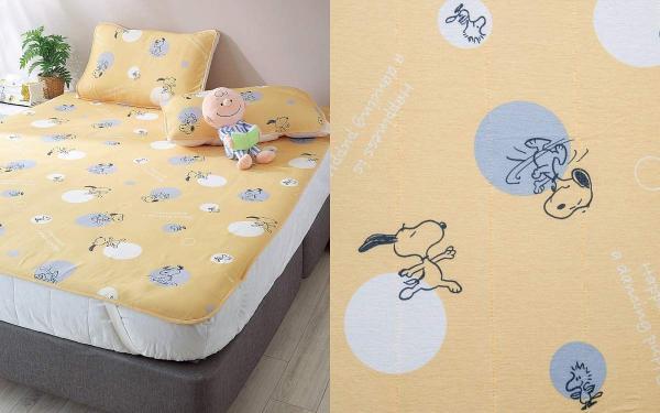 HOLA史努比家居用品百元就能买齐:造型抱枕、浴巾、床单、地毯,现在买最划算,绝版3折起!