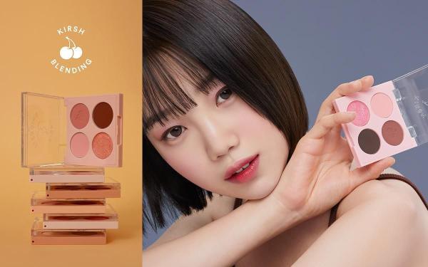 韩潮牌 KIRSH彩妆支线KIRSH BLENDING百元价开卖了,彩妆控赶快行动起来吧!