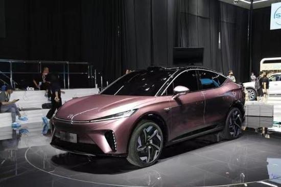 2021成都车展:上汽R汽车ES33量产版展前亮相