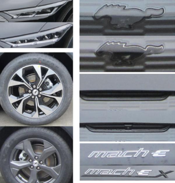 长安福特Mustang Mach-E申报图曝光 将于年底交付