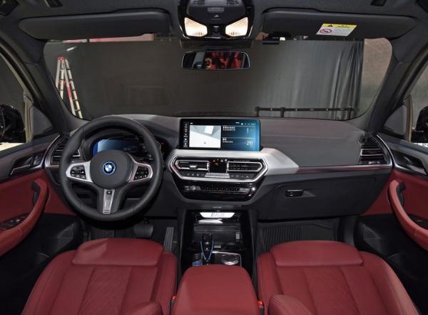 续航500km/两款车型,新款宝马iX3正式上市