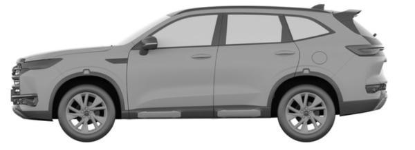 采用硬朗设计风格?疑似全新哈弗H6新版本车型曝光