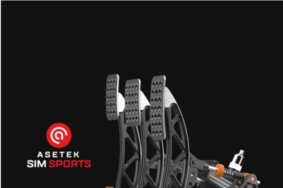 Asetek推出高性能Invicta赛车踏板 为模拟赛车手带来身临其境的体验
