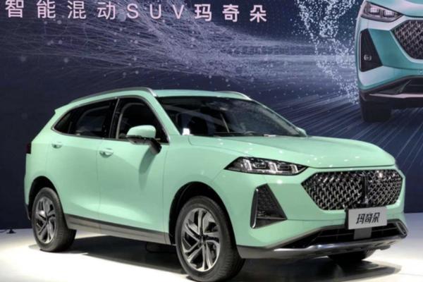 WEY玛奇朵将于天津车展上市 搭载混动系统