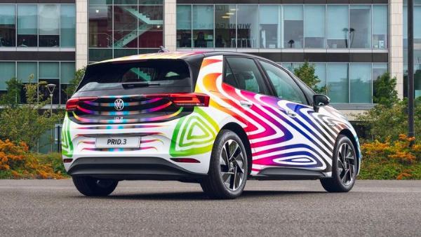大众PRID.3官图发布 全车采用11种颜色组合