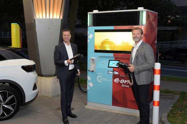 E.ON和大众推出带蓄电池的快速充电设备 充电更容易且价格较低