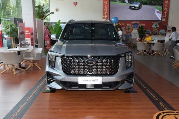全新广汽传祺GS8现已到店 首次搭载丰田混动系统