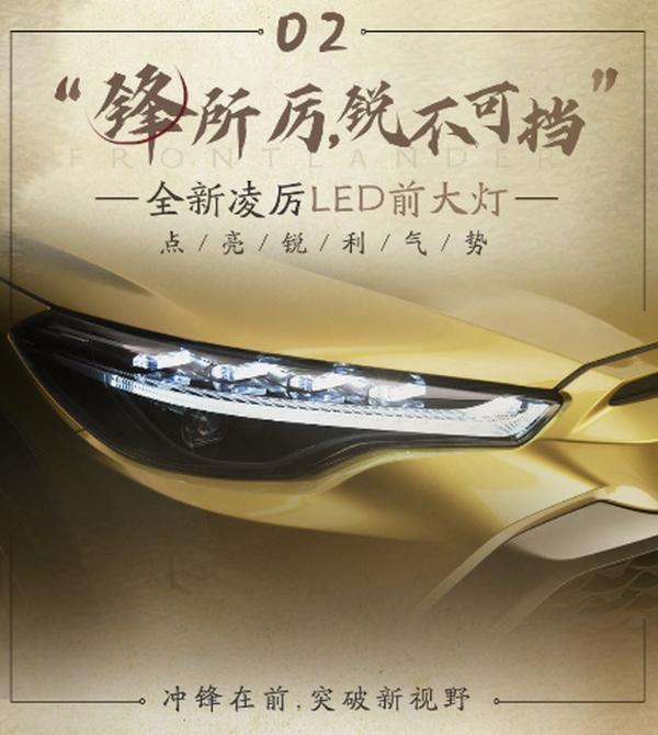 广汽丰田全新SUV定名锋兰达 定位更低 或为卡罗拉跨界版