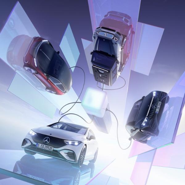 动力或超G63燃油版,全新梅赛德斯-奔驰EQG概念车亮相慕尼黑车展