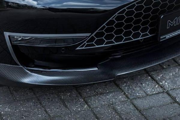 外观操控动力均提升,特斯拉Model 3高性能车型由德国Manhart改装升级