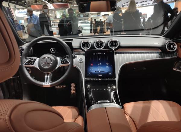 底盘升高40mm,全新奔驰C级All-Terrain亮相慕尼黑车展