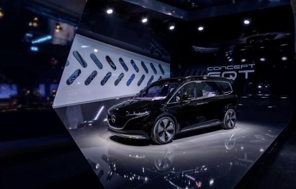 续航里程265km,全新梅赛德斯-奔驰EQT概念车亮相慕尼黑车展