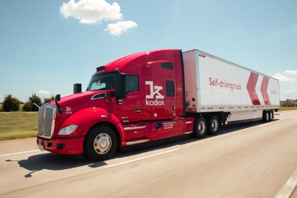 Kodiak Robotics推第四代自动驾驶卡车 集结英伟达、采埃孚等技术