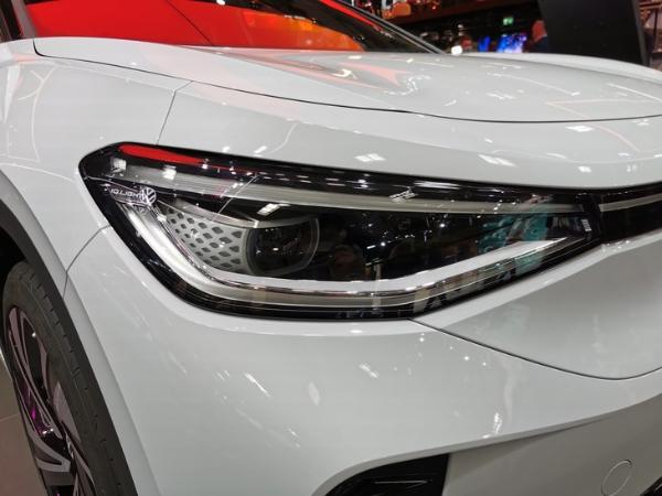 2021慕尼黑车展:大众ID.4 GTX线下首秀