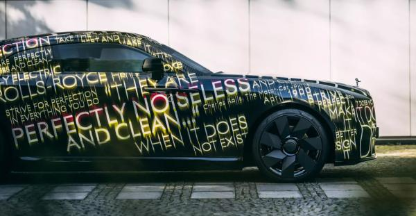 电动汽车,新车,热点车型,劳斯莱斯首款纯电Spectre,劳斯莱斯电气化