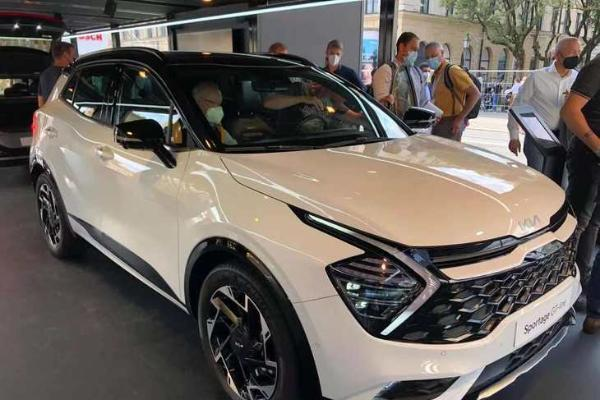 2021慕尼黑车展:欧版起亚SPORTAGE GT-line亮相