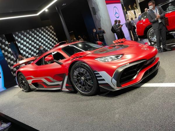 2021慕尼黑车展:AMG ONE准量产版亮相