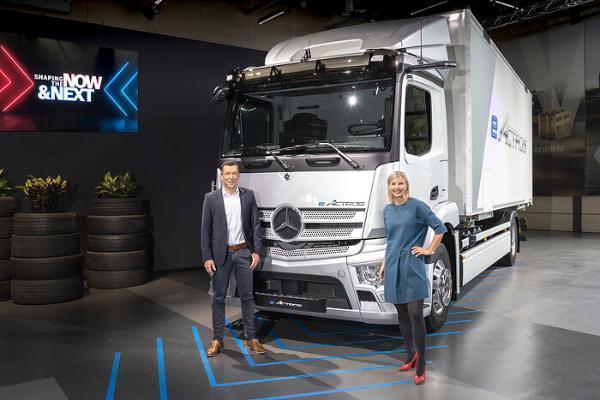 梅赛德斯-奔驰卡车推出创新解决方案 助力纯电动道路货运能源转型