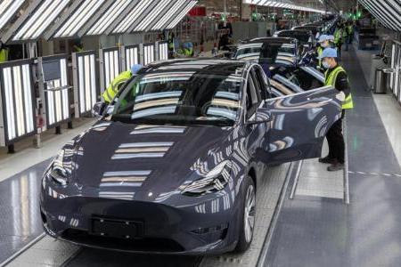 特斯拉上海工厂前9月或生产30万辆汽车