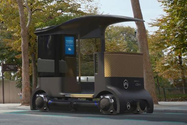 雪铁龙推模块化自动驾驶电动汽车 配不同吊舱实现不同出行目的