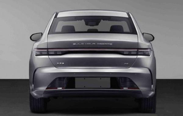比亚迪F5实车图曝光 动力提供1.5L插电式混动系统