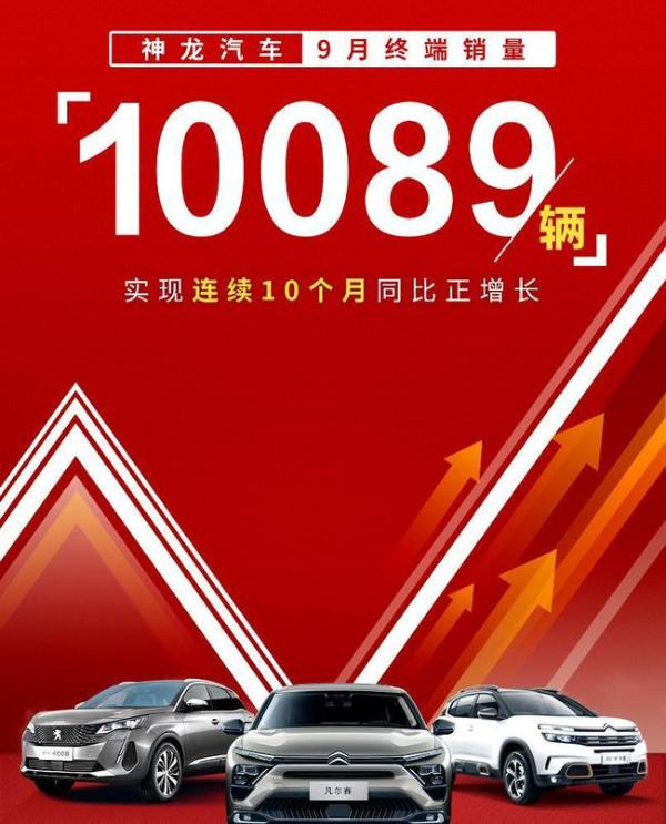 销量,神龙汽车,9月汽车销量