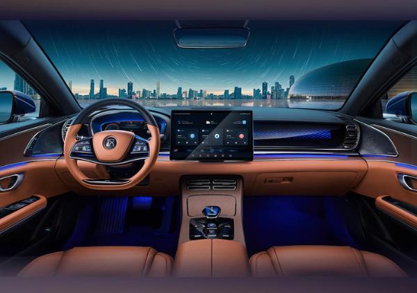 比亚迪汉EV新车型上市 售价25.88万元起 新增极光蓝车漆选项