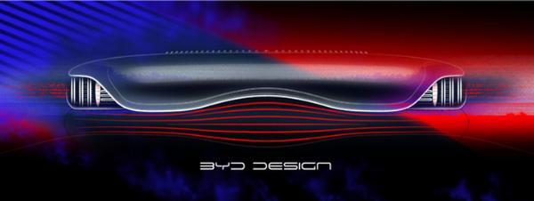 科技动感相结合 比亚迪元PLUS内饰效果图曝光