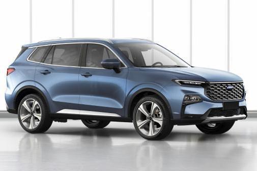 江铃福特全新中型SUV曝光 专为中国市场打造/设计更运动