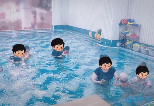 婴幼儿游泳+水育+水疗+亲子游泳的专业婴儿游泳馆