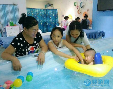 孩子游泳和不游泳的差别