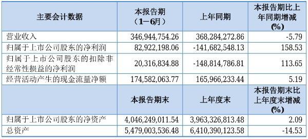 新智认知2021年半年度净利8292.22万元 同比扭亏为盈