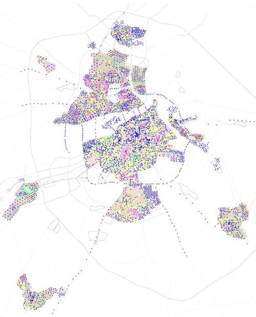 闪亮的5G站点规划图 哈尔滨到2035年新建5G基站3987个