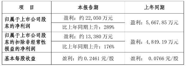 国风塑业2021年前三季度预计净利2.21亿元 比上年同期增加289%