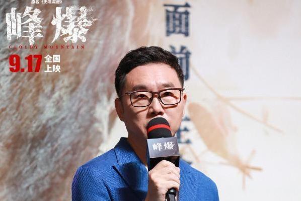 《峰爆》朱一龙首次演硬汉 最难忘与黄志忠的攀岩戏