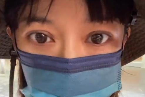 陈意涵怀二胎晒照被指暴瘦眼凸 发自拍视频回怼网友