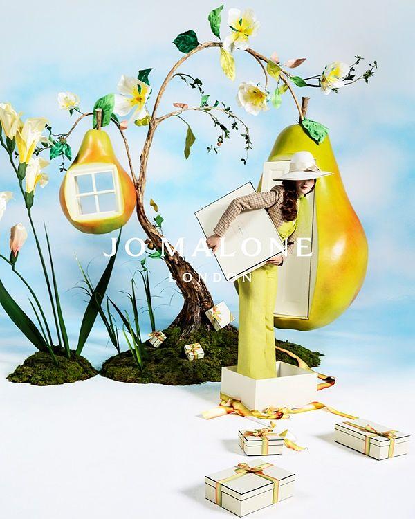 Jo Malone英国梨与小苍兰上市10周年全新限定系列!香气彷彿置身充满阳光的英式果园 !