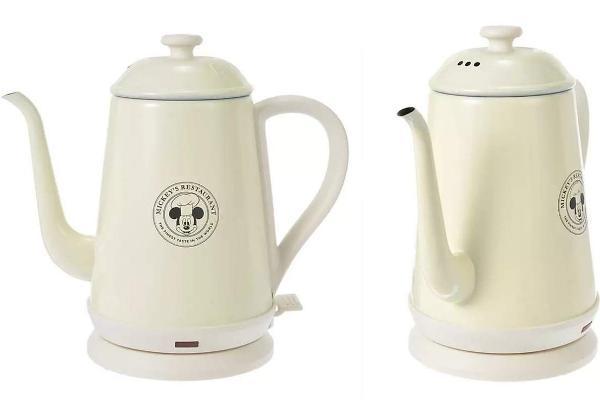 好想要!BRUNO迪斯尼奶油粉生活小家电米奇快煮壶、米妮小风扇,光看就觉得心情愉悦!