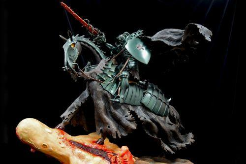 《剑风传奇》主题巨型骷髅骑士雕像 重达20公斤霸气无匹