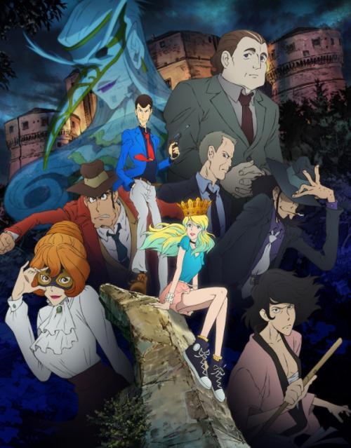 《鲁邦三世 PART6》TV动画10月开播 押井守将参与剧本创作