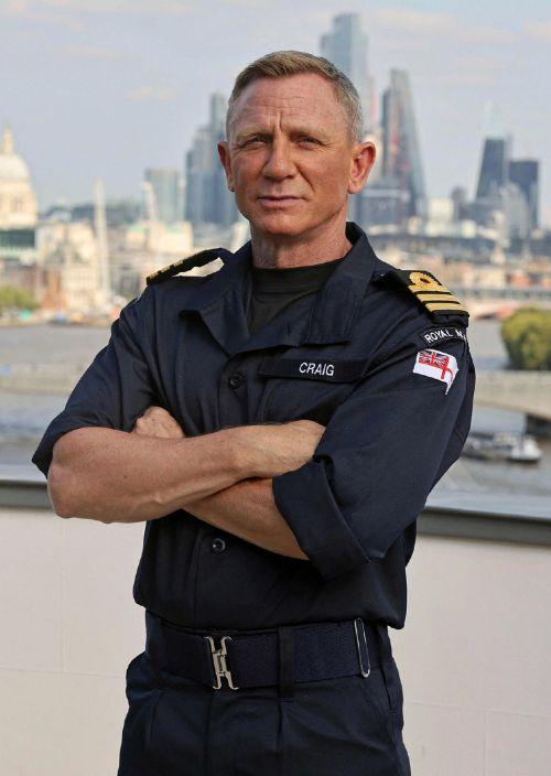 演员丹尼尔·克雷格成为英国皇家海军荣誉中校