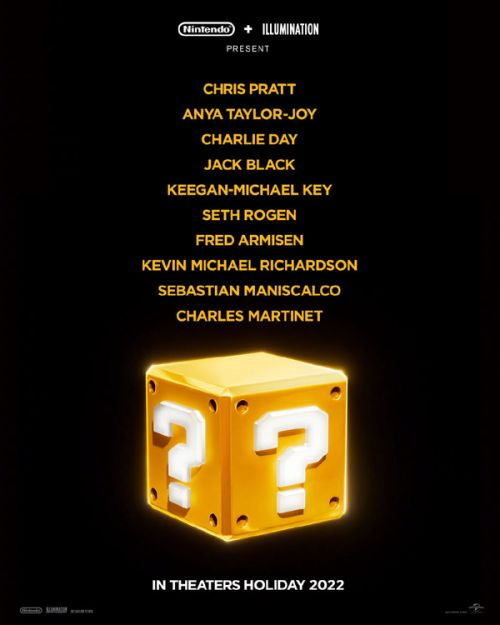 《超级马里奥兄弟》动画电影北美定档!星爵和安雅·泰勒-乔伊参与配音